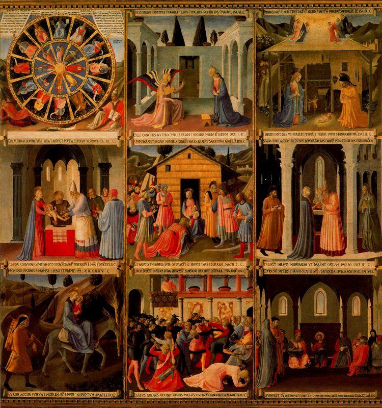 Armario de la plata (1450) Fra Angelico