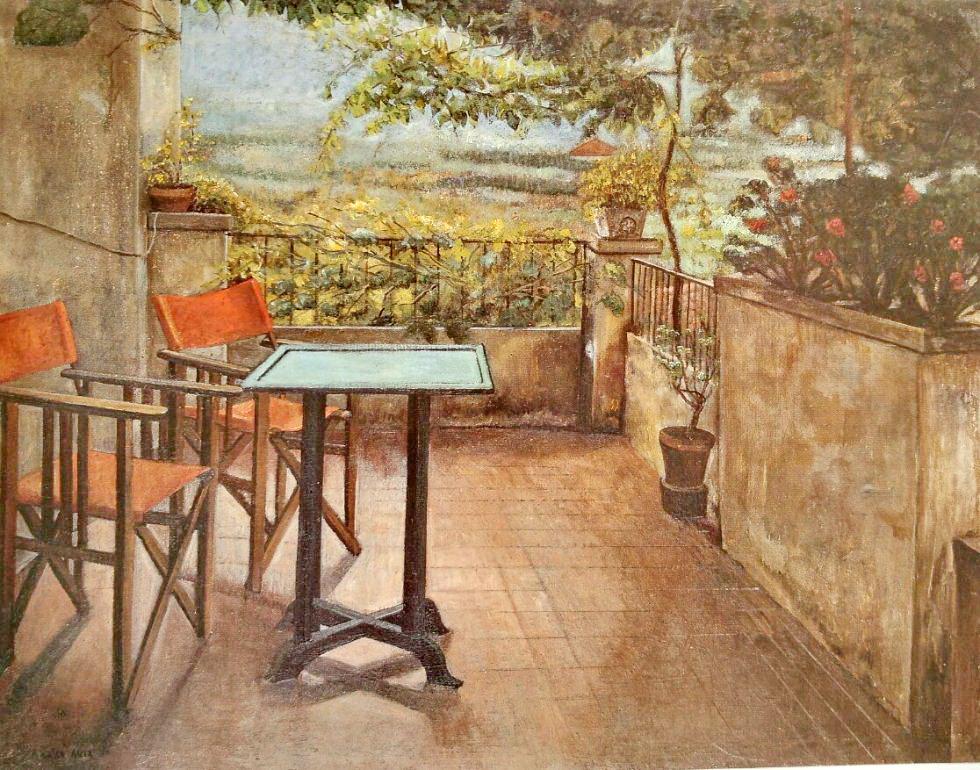 La Terraza De Los Liz 1980 Amalia Avia