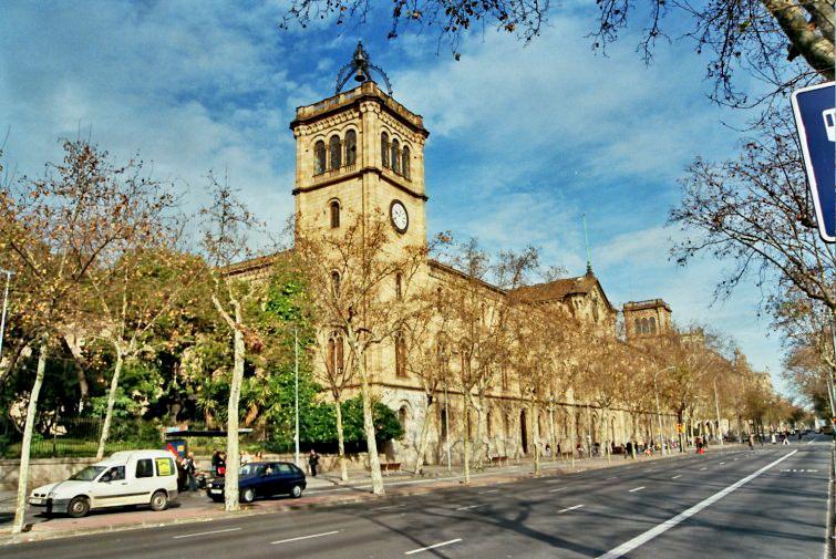 Universidad de barcelona 1873 elies rogent for Universidad de moda barcelona