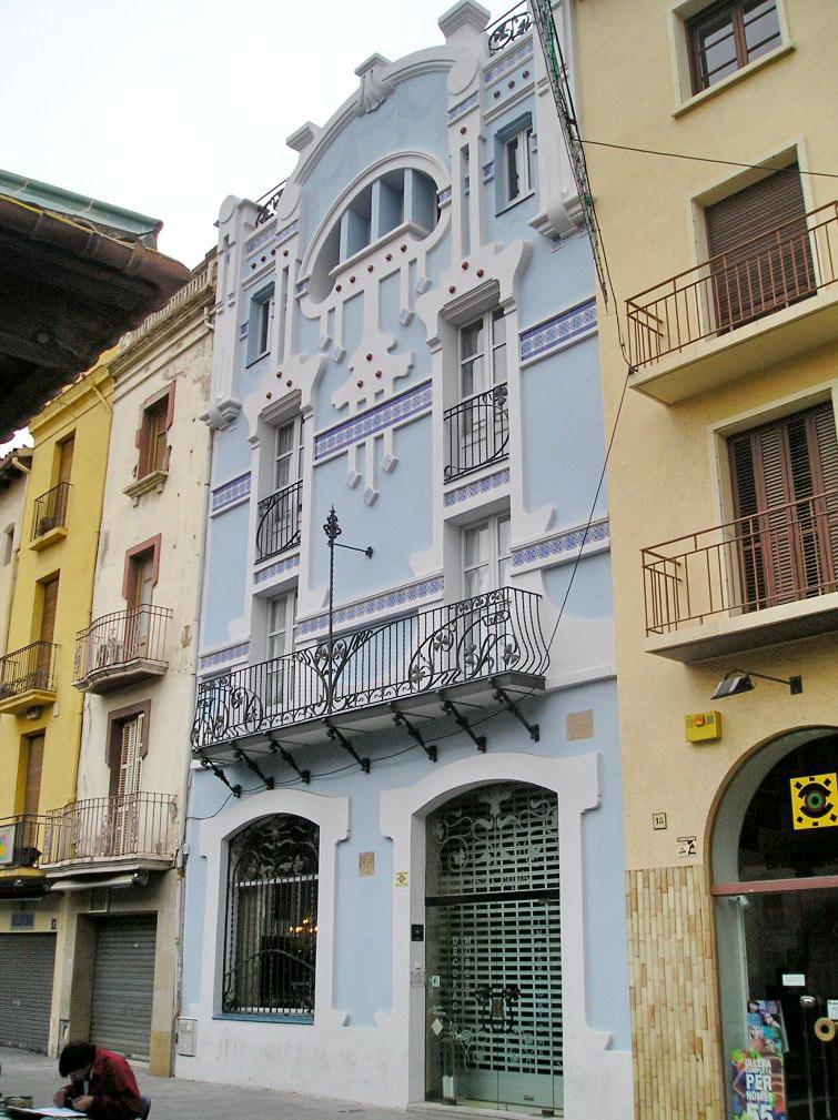 Casa clap s 1907 manuel raspall - Casas en granollers ...