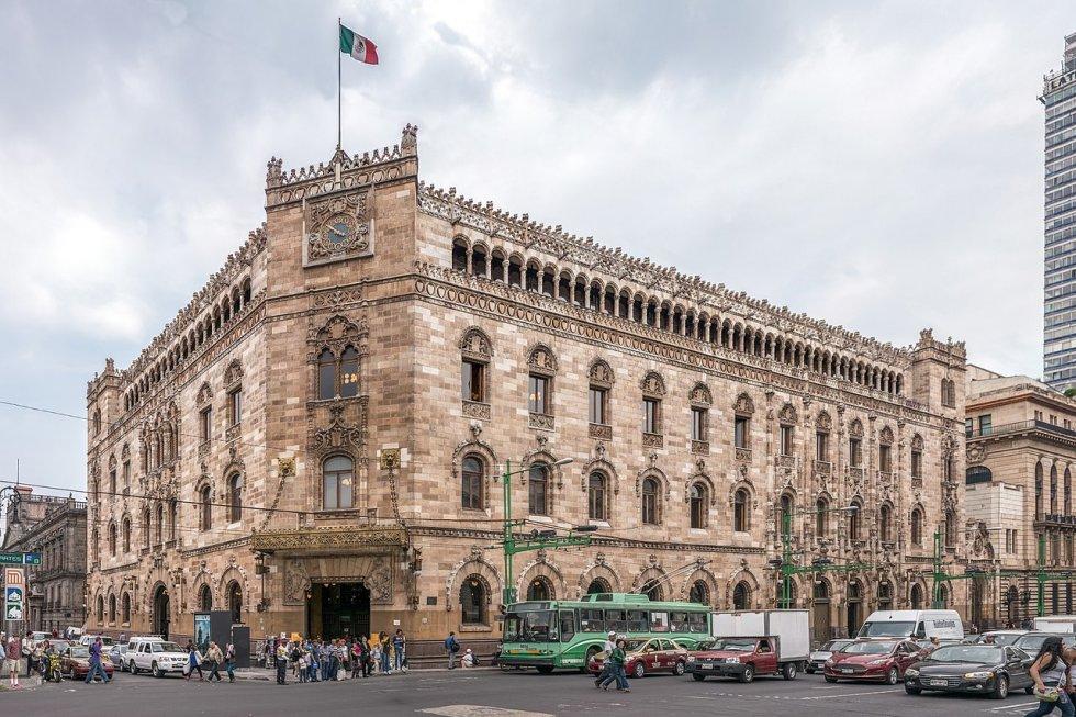 Palacio de correos 1907 adamo boari for Oficina de correo postal