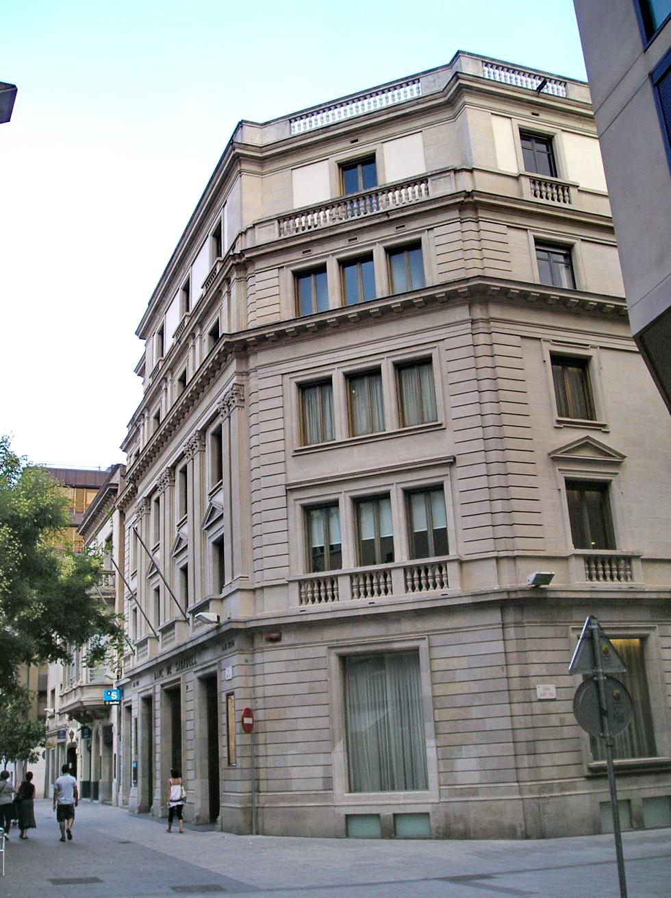 Banco de sabadell 1954 lluis bonet i gari - Arquitectos sabadell ...