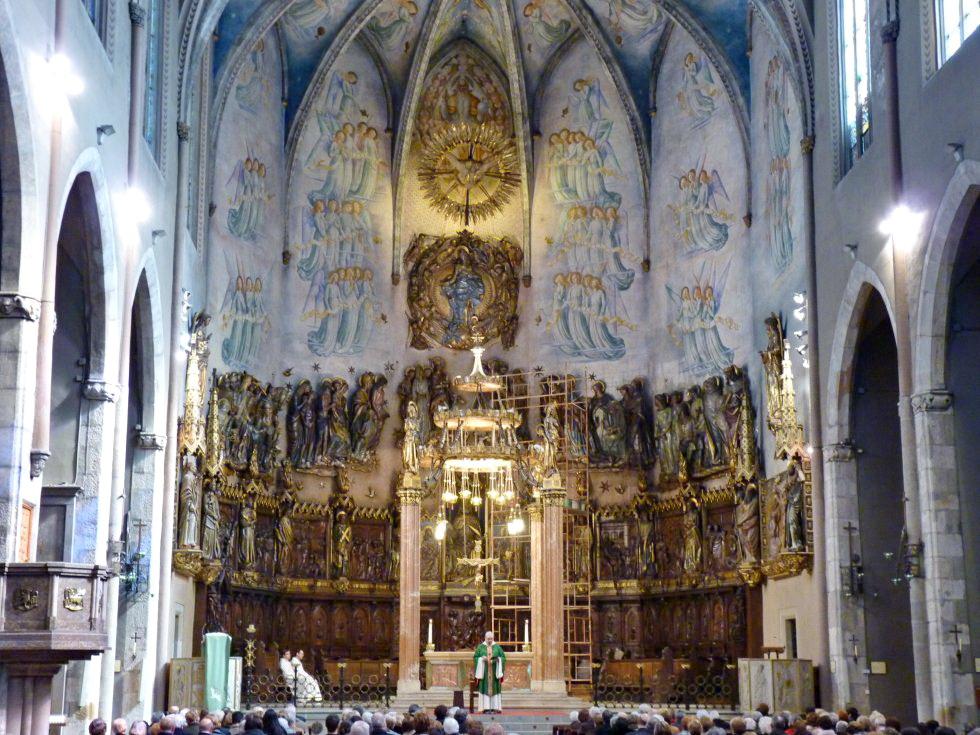 Catedral de terrassa coro 1945 lluis bonet i gari - Arquitectos terrassa ...