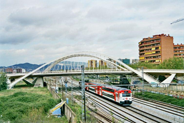 Puente Bach de Roda (1987) Santiago Calatrava Felipe Santiago