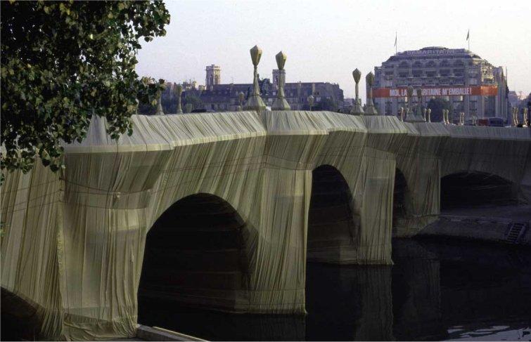 pont neuf christo