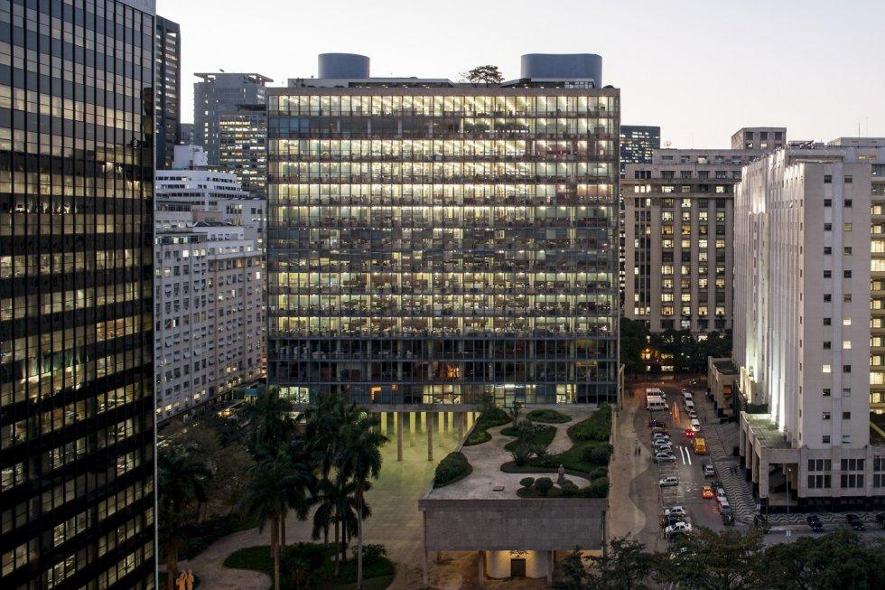 ministerio de educación 1946 arquitecto lucio costa ciudad rio de ...