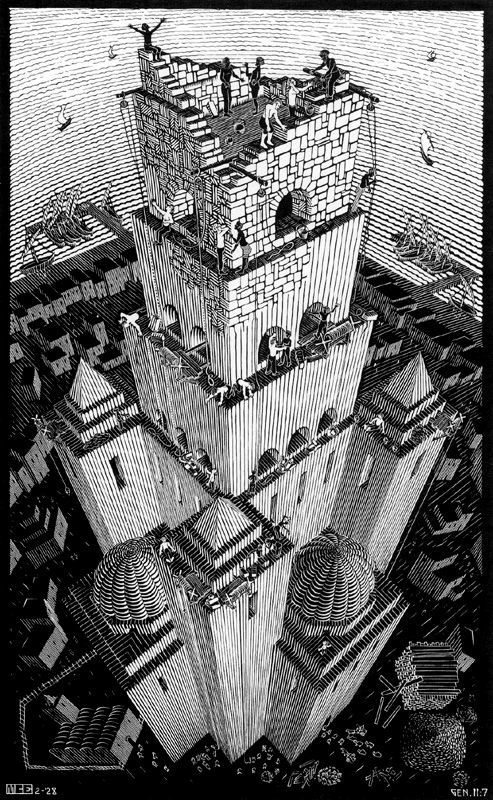 Sagesse du pluvian - Page 5 Escher4