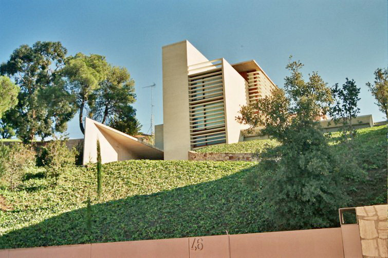 Casa estudio alonso 1998 carles ferrater for Carles ferrater