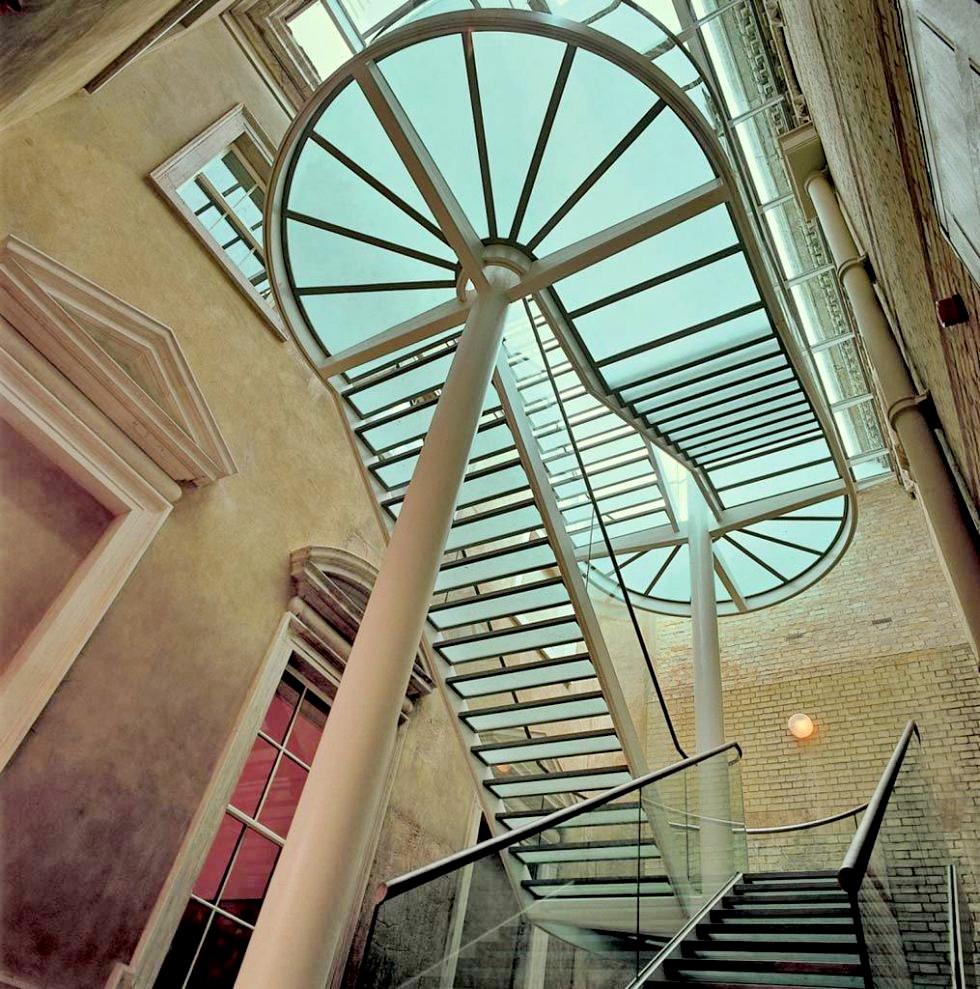 galerías sackler royal academy of arts 1991 arquitecto norman foster ...