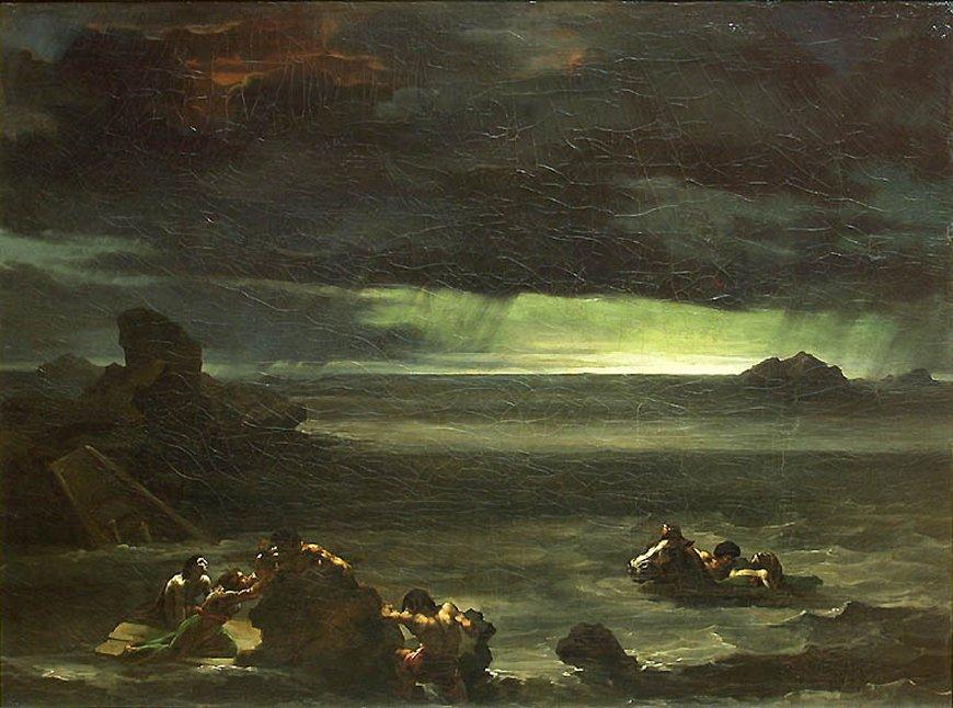 Resultado de imagen de Diluvio de Géricault