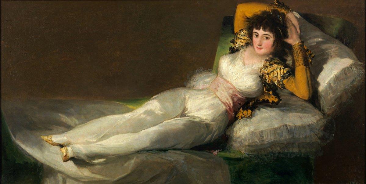 La bellas mujeres de la pintura
