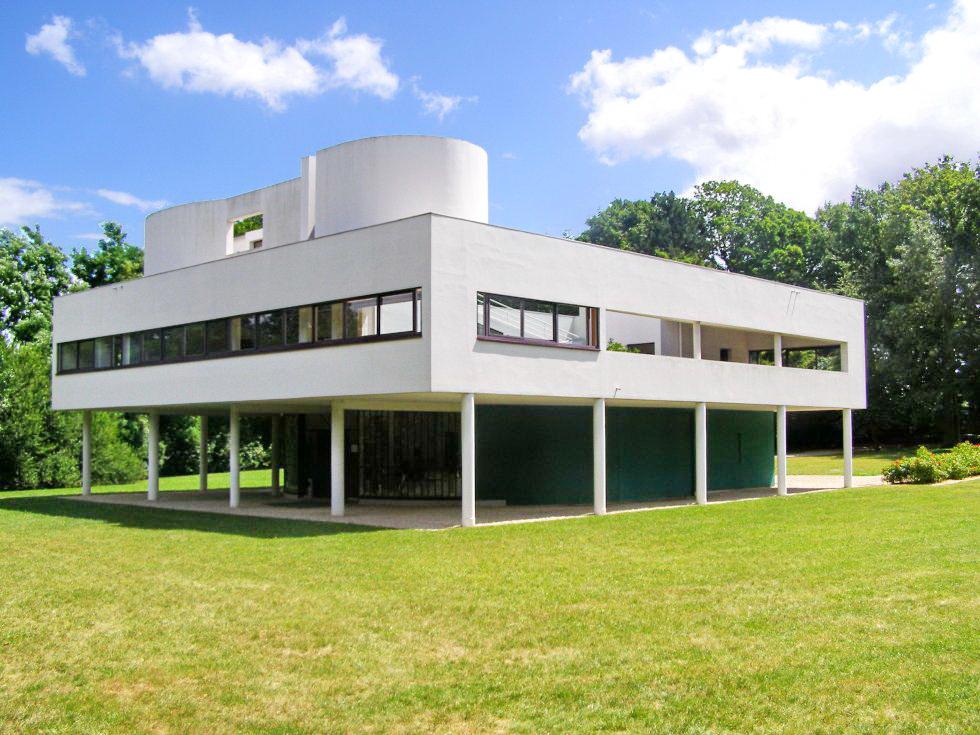 Villa savoye 1931 le corbusier - Arquitecto le corbusier ...
