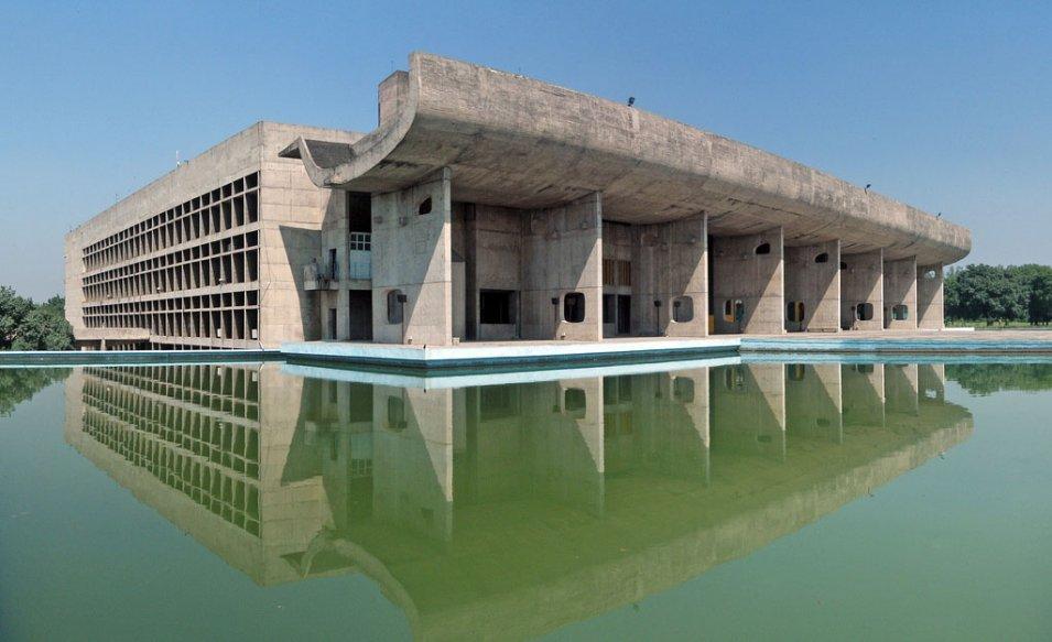 Asamblea de chandigarh 1961 le corbusier - Arquitecto le corbusier ...