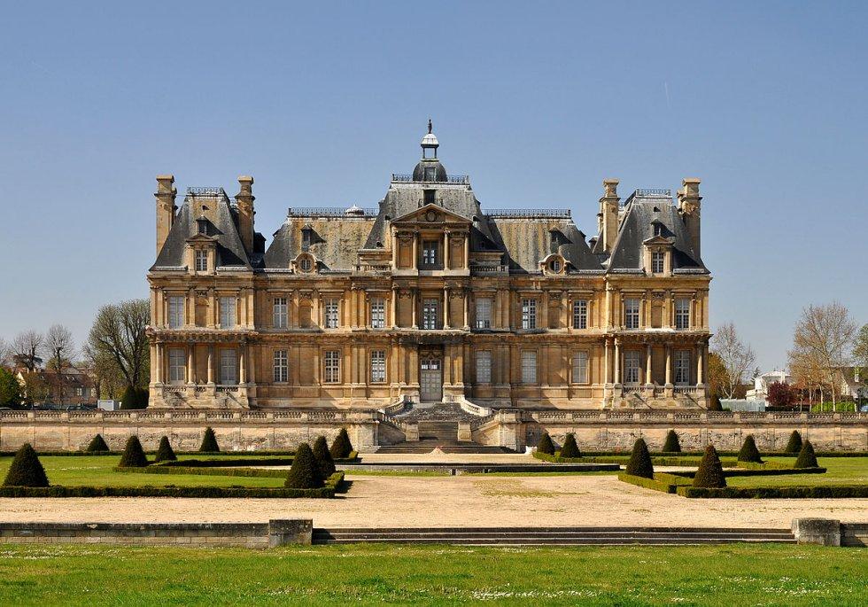 Castillo De Maisons Laffitte 1646 Fran Ois Mansart