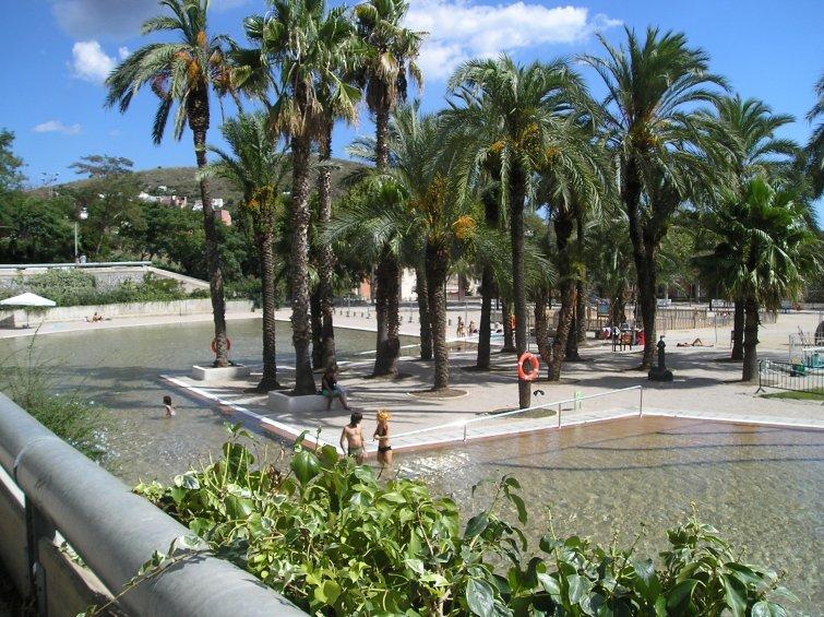 Parc de la creueta del coll 1987 oriol bohigas josep for Piscina creueta del coll