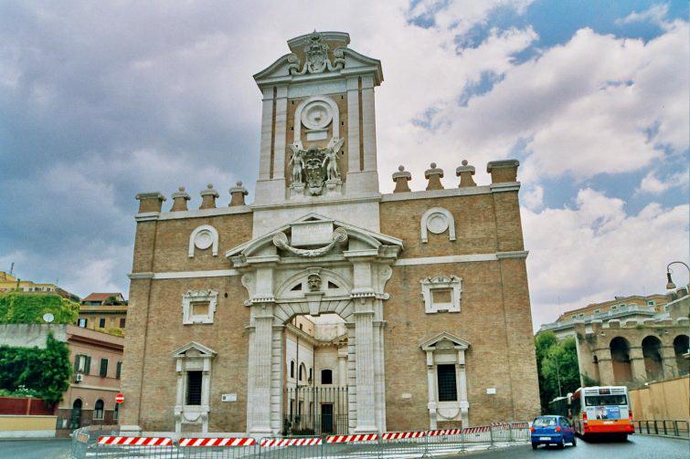 Porta pia 1561 miguel angel buonarroti - Arquitectura miguel angel ...
