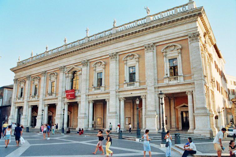 Museo capitolino 1563 miguel angel buonarroti - Arquitectura miguel angel ...
