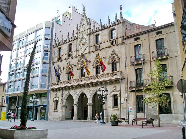 Ayuntamiento de terrassa 1902 lluis muncunill - Arquitectos terrassa ...
