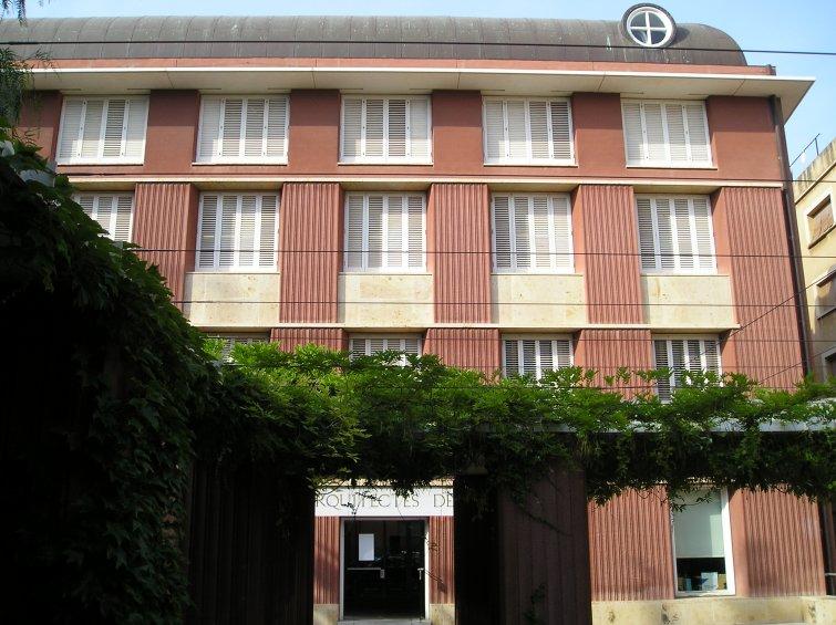 Colegio de arquitectos 1992 rafael moneo - Colegio arquitectos barcelona ...