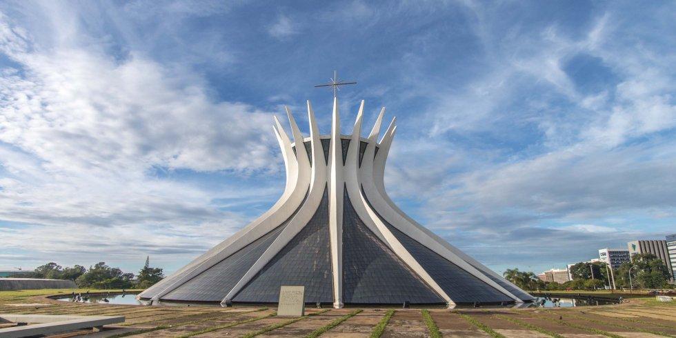 Catedral de brasilia 1960 oscar niemeyer - Arquitecto de brasilia ...