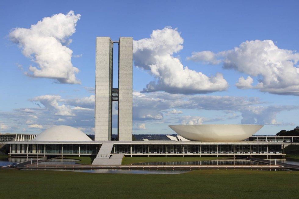 Congreso nacional de brasilia 1960 oscar niemeyer - Arquitecto de brasilia ...