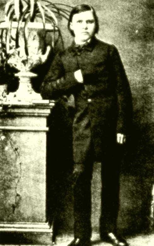 El jovencito Nietzsche