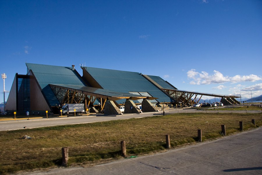 Aeroporto Ushuaia : Aeropuerto ushuaia carlos ott