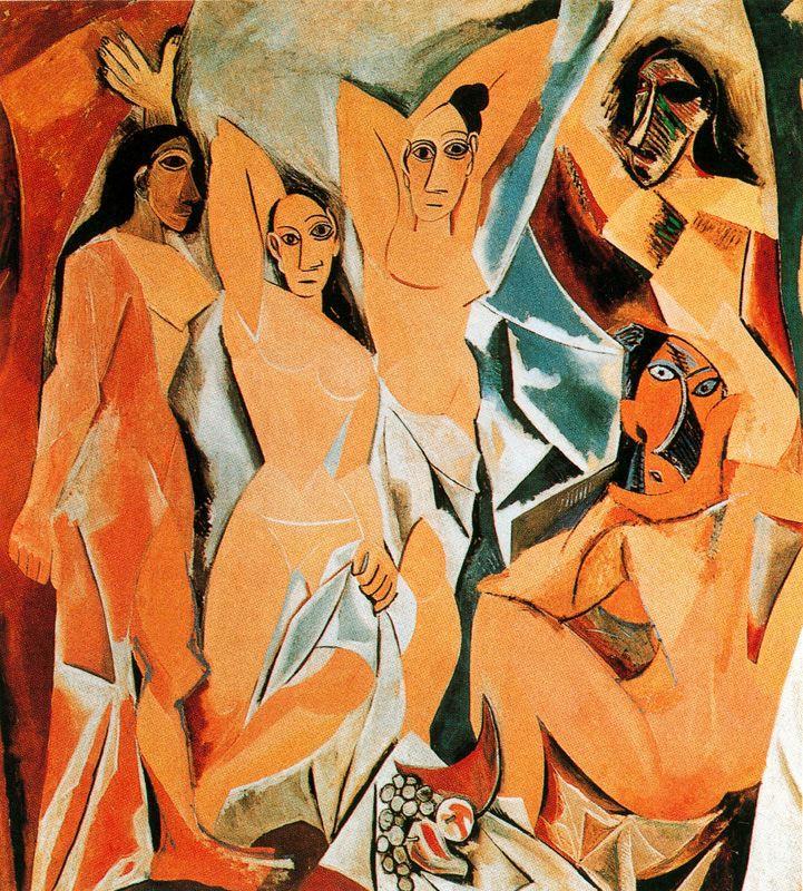 Pablo Picasso Les Demoiselles d'Avignon