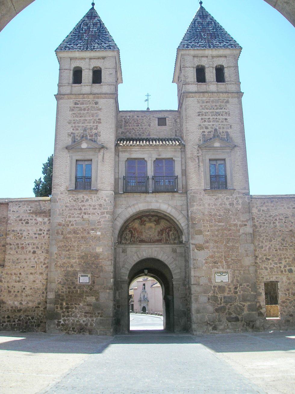 Puerta Nueva De Bisagra 1550 Alonso De Covarrubias