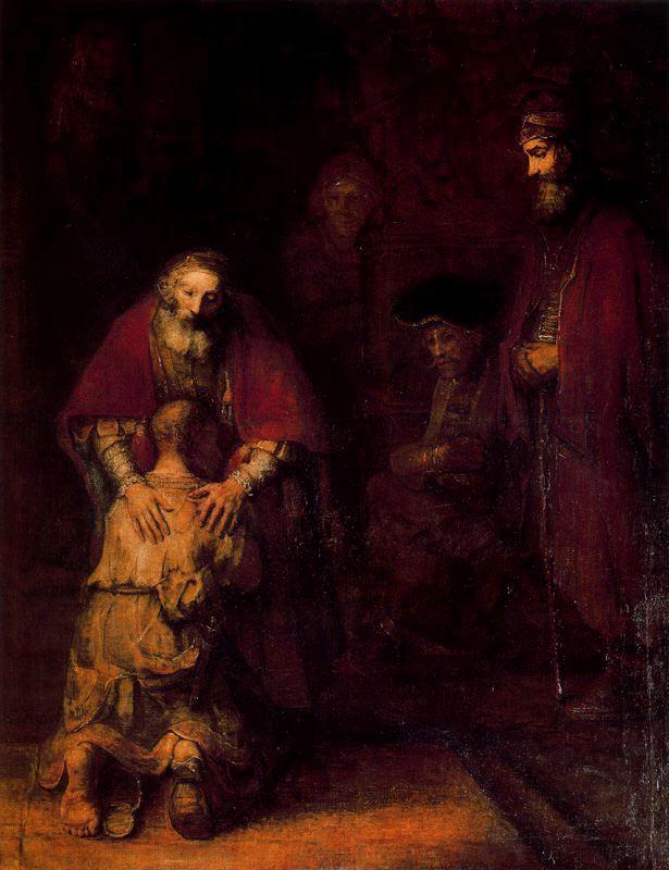 el regreso del hijo pródigo 1669 descripción óleo sobre lienzo 262 ...