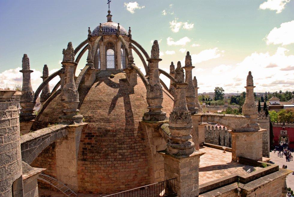 Sacrist a de los c lices 1534 diego de ria o for Exterior catedral de sevilla