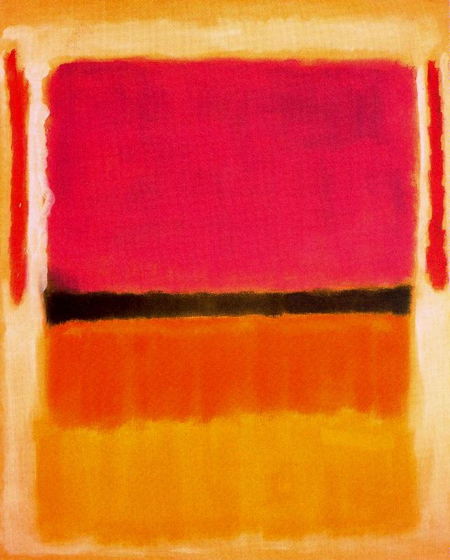 Sin t tulo 1949 mark rothko for Fotos de cuadros abstractos sencillos