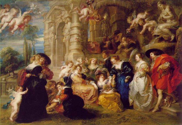 el jard n del amor 1632 pedro pablo rubens