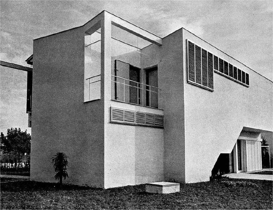 Casa agust 1955 josep mar a sostres - Arquitecto sitges ...