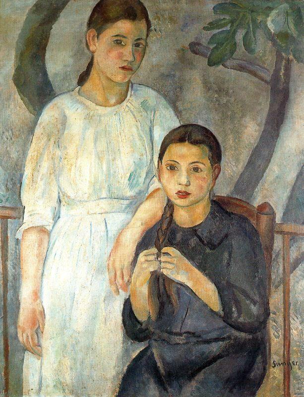 Dues germanes, 1916