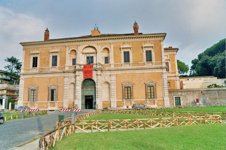 Roma Museo Di Villa Giulia